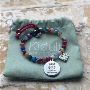 Kidult Italian brand beaded charm bracelet
